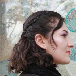 Coiffure romantique cheveux ondulés Maquilleuse Coiffeuse Photographe portrait Paris