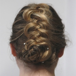 Coiffure tresse mariage Maquilleuse Coiffeuse Paris